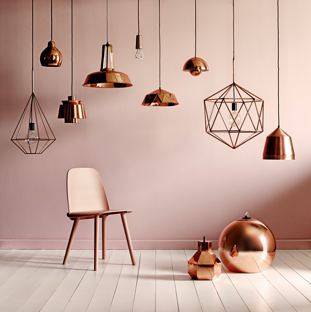 How to Improve Your Dining Room Lighting Using Copper Fixtures_5