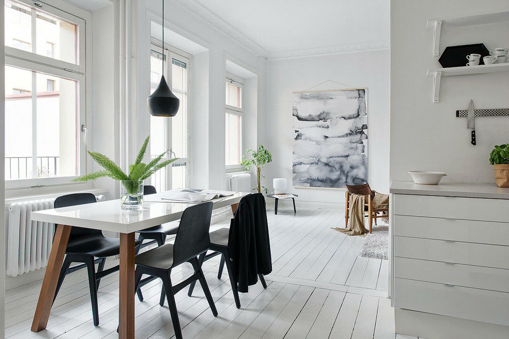 A Bright Room With An Open E Is One Of The Elements That Define Most Scandinavian Dining In This Catchy Piece