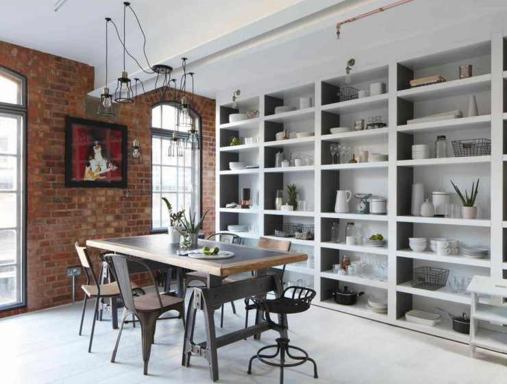5 Steps to Make Your Industrial Dining Room Look Amazing FEAT