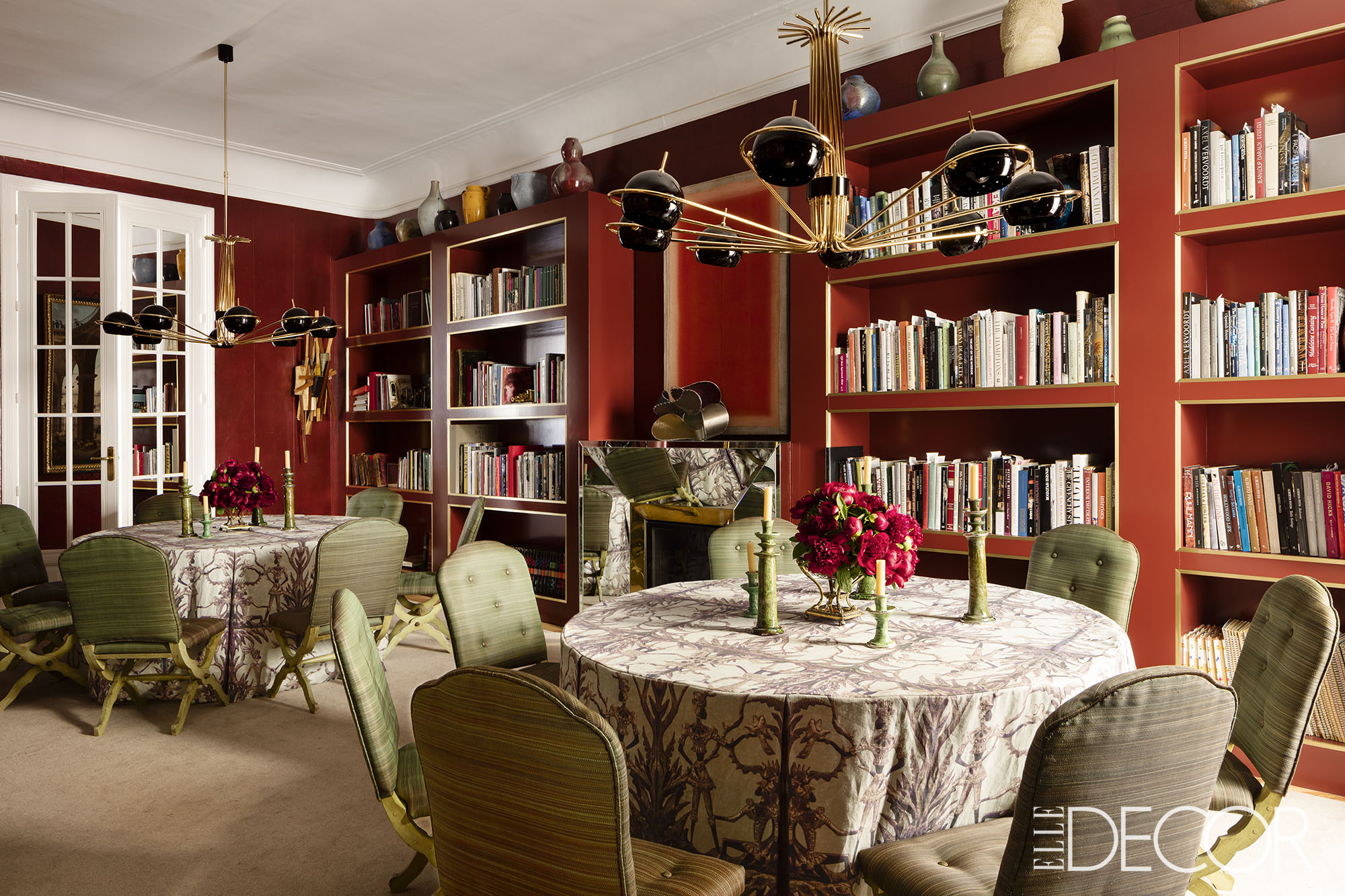Make your dinnertime 10 times better w these dining room read also when a mid century chandelier is the star of your dining room decor arubaitofo Gallery