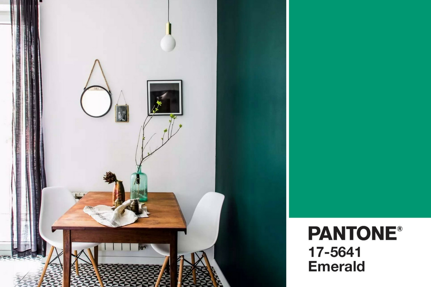 Mood Board How To Use Emerald Green In Your Dining Room Decor Lighting