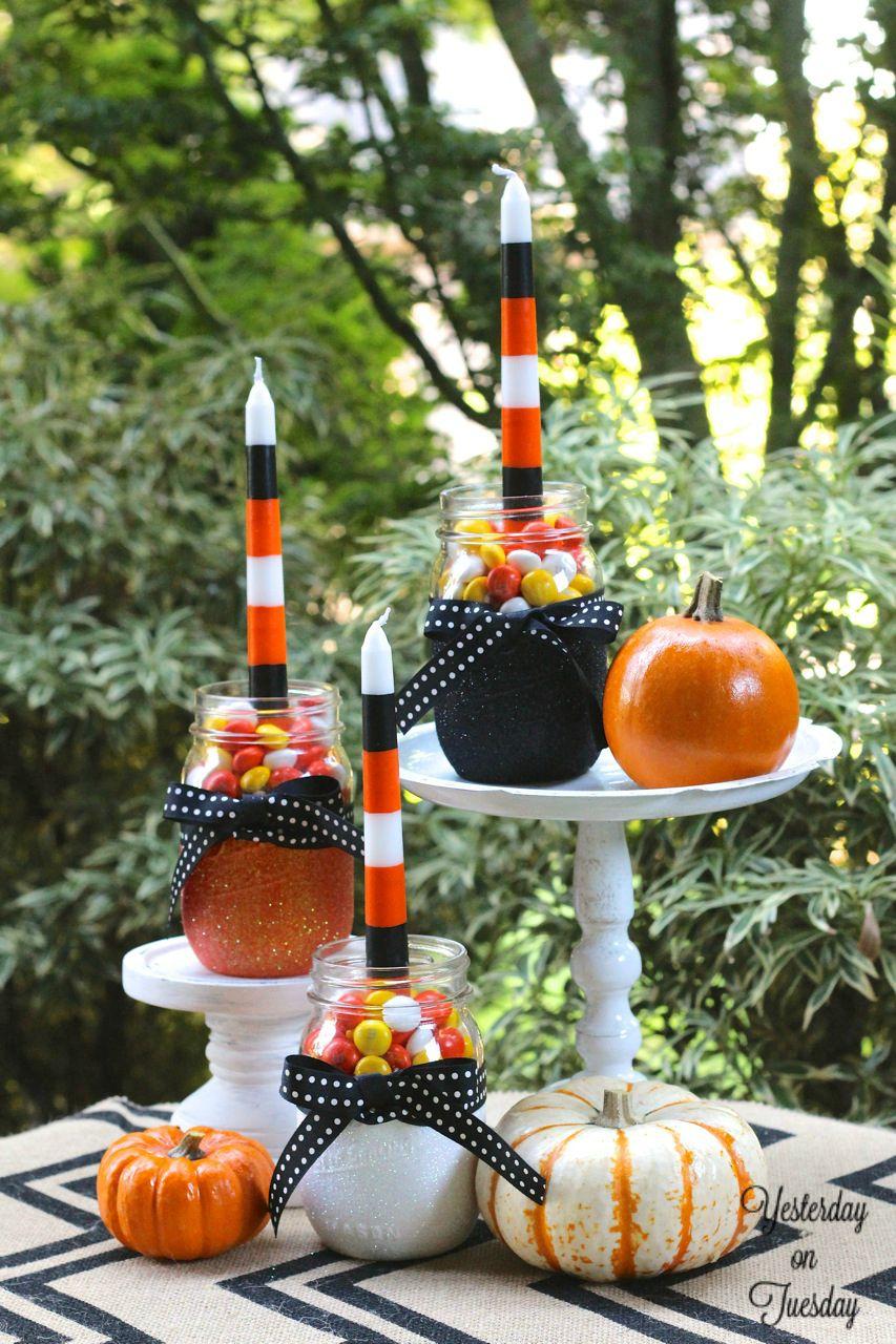 Halloween: декорируем дом своими руками  Halloween: декорируем дом своими руками Spooky Decor Ideas for the Perfect Halloween Dinner 6