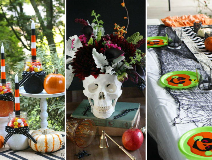Spooky Decor Ideas for the Perfect Halloween Dinner FEAT