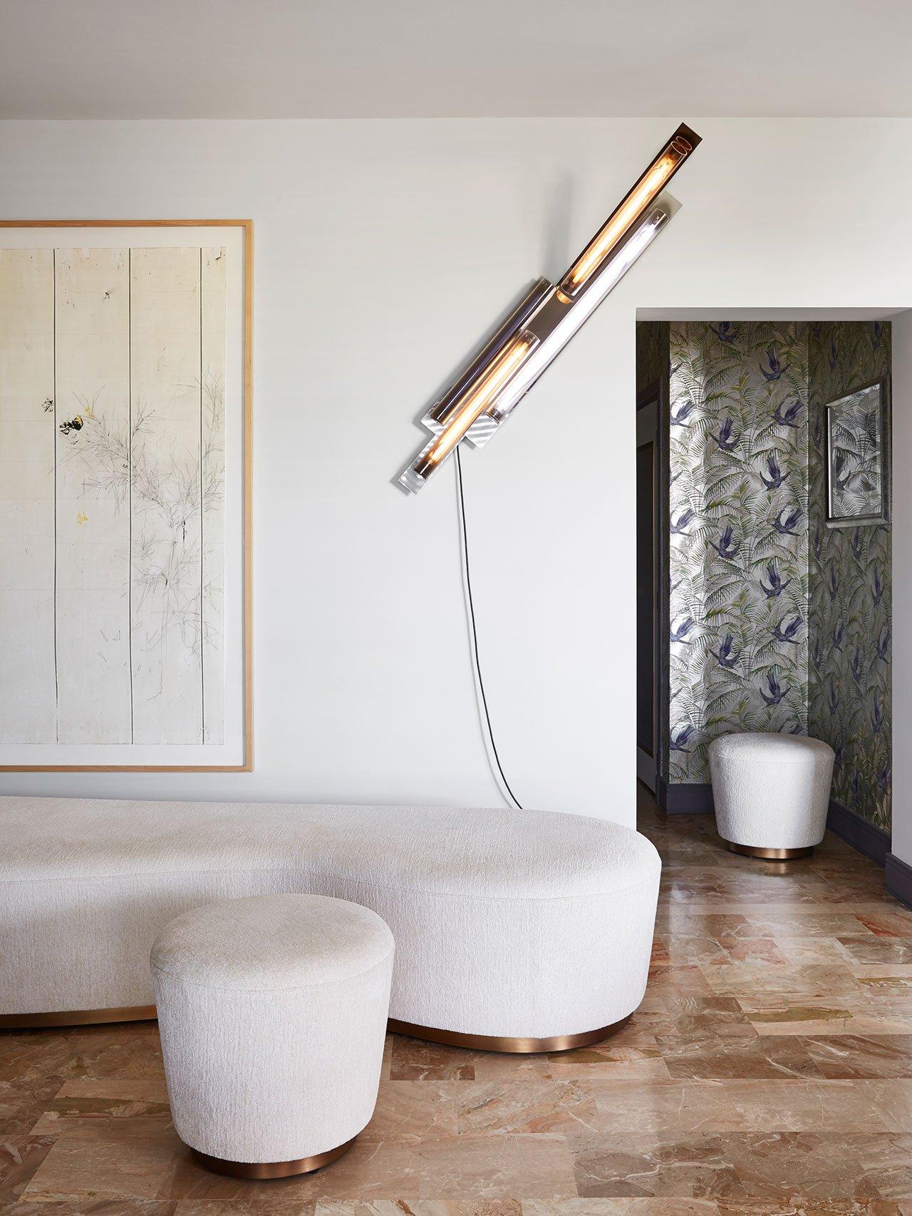 Sputnik Chandelier Lights Up Mid-Century Dining Room in Monaco 5