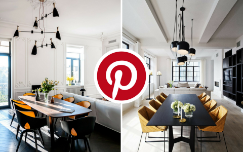 What's Hot on Pinterest- 5 Mid-Century Dining Rooms You'll Love feat