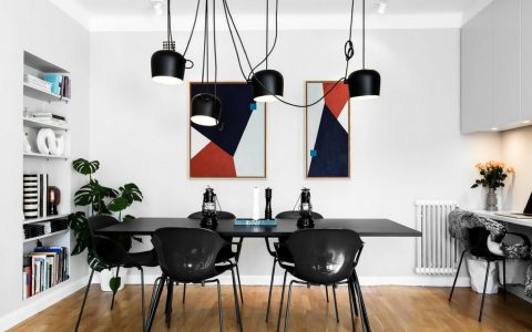 What's Hot on Pinterest- 5 Scandinavian Dining Room Lighting FEAT