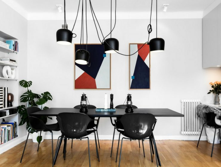 What's Hot on Pinterest- 5 Scandinavian Dining Room Lighting FEAT