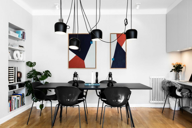 What S Hot On Pinterest 5 Scandinavian Dining Room Lighting