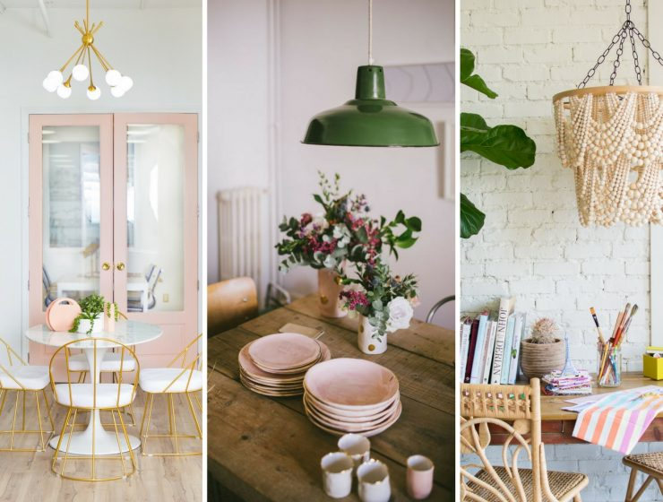 What's Hot on Pinterest- Pastel Colors & Unique Dining Room Lamps FEAT (1)