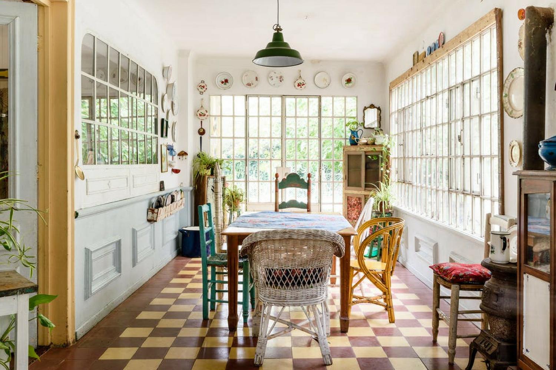 Vintage dining room light