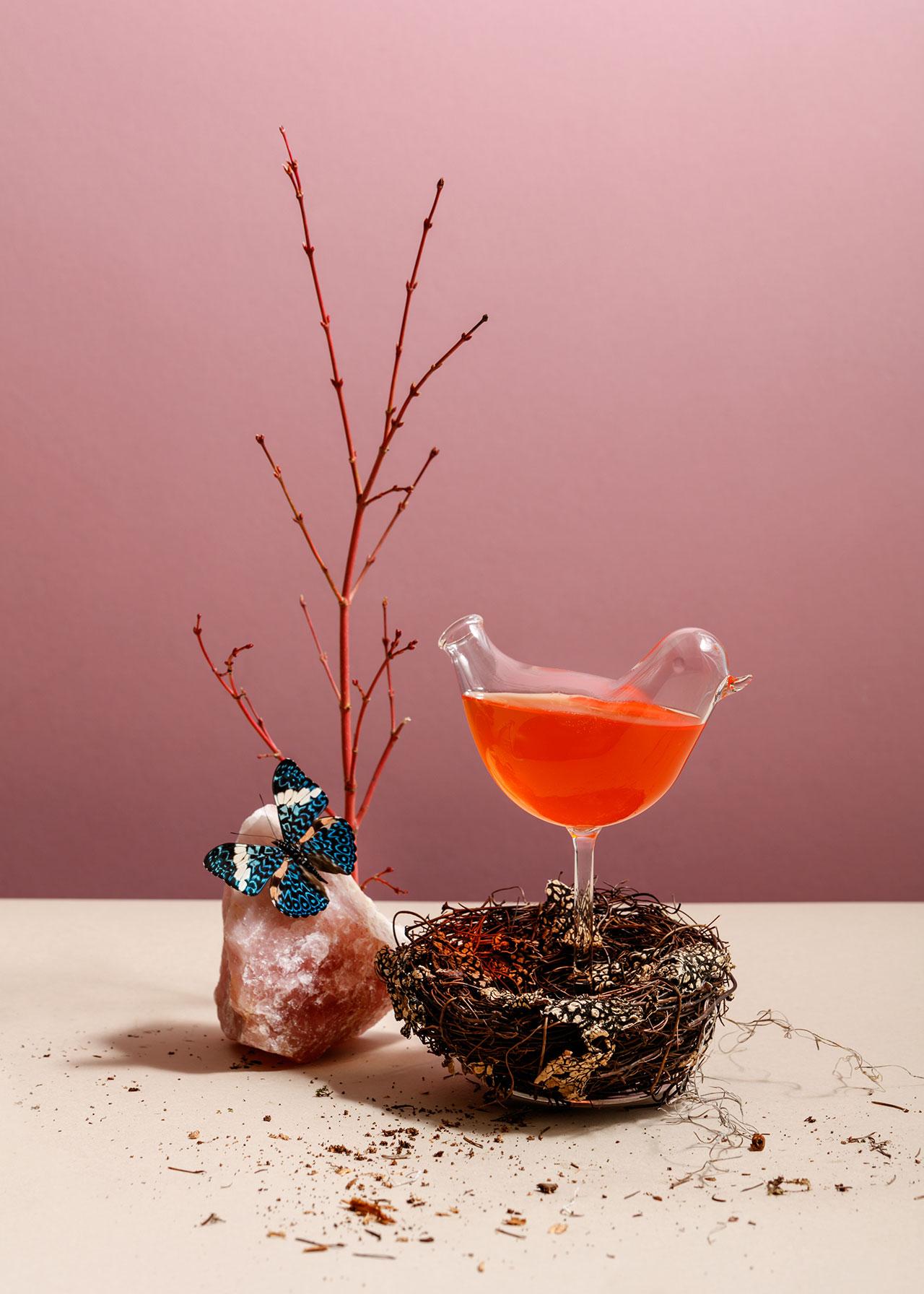 A Mid-Century Modern Restaurant with A Botanical Inspiration 6