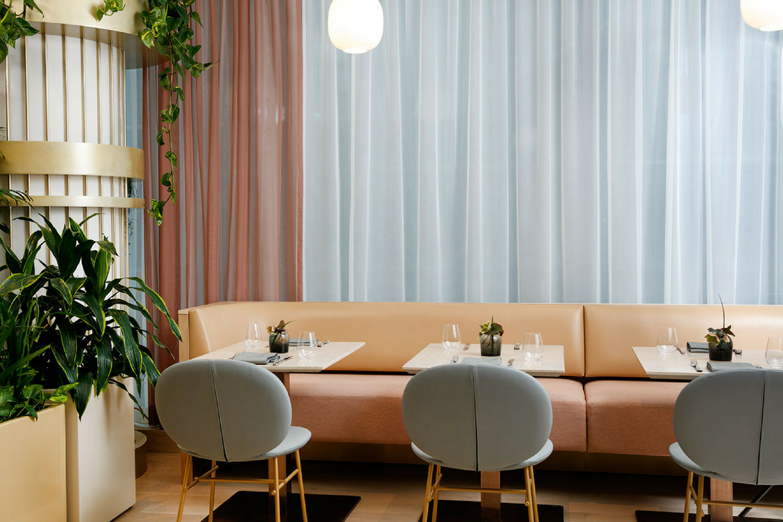 A Mid-Century Modern Restaurant with A Botanical Inspiration ...