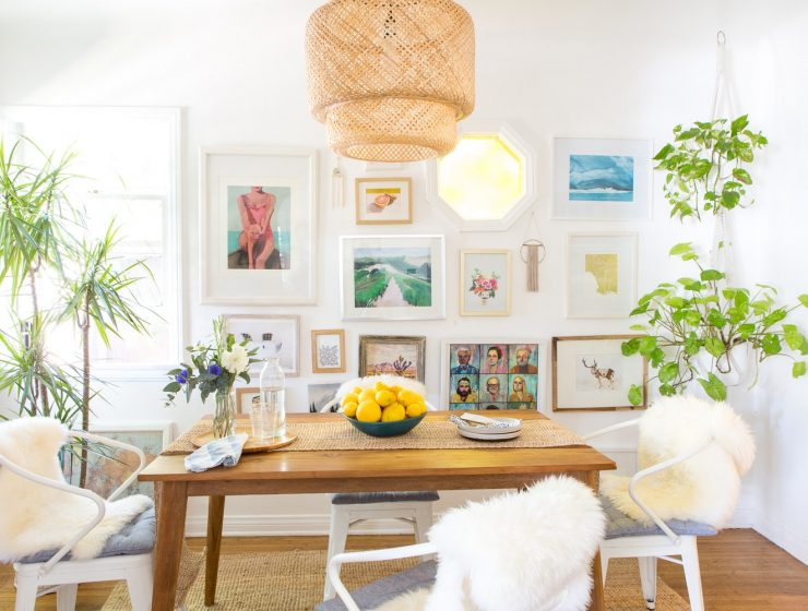How to Create the Perfect Boho Dining Room Decor FEAT
