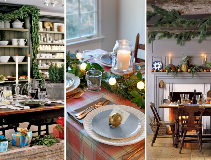 The Best Christmas Decorating Ideas for Your Dining Room Decor FEAT