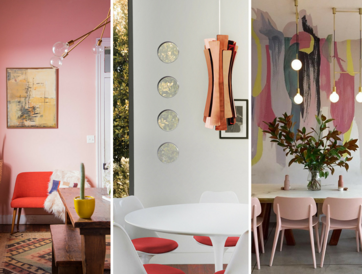 Whats Hot On Pinterest 5 Pink Dining Rooms