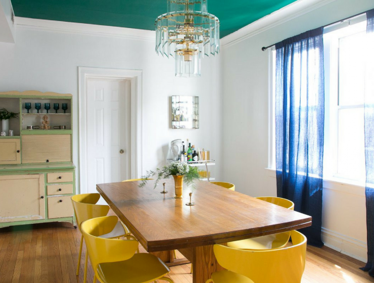 What's Hot on Pinterest- 5 Vintage Dining Rooms for The Weekend FEAT