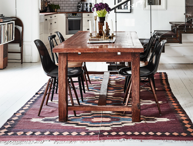 Follow These Rules And You'll Have The Perfect Dining Room Rug FEAT