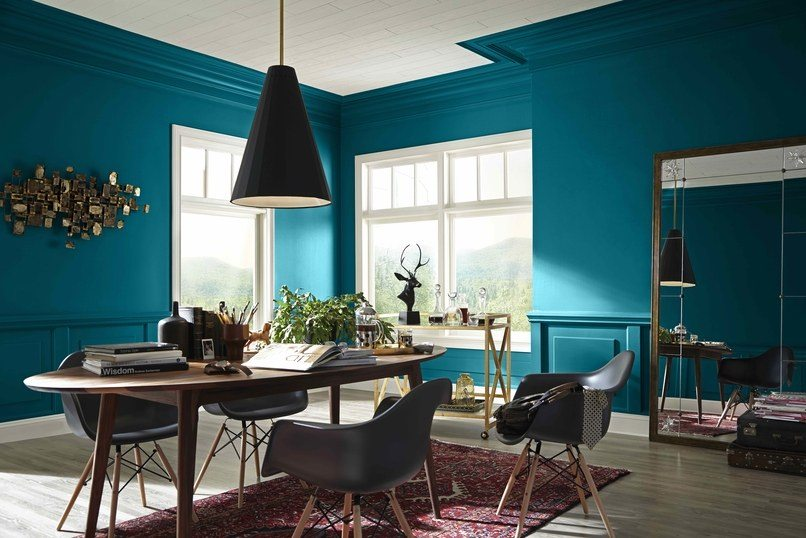 Our Best Bets Dining Room Paint Colors 2018