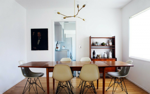 Super Tips for Your Retro Dining Room Lighting FEAT