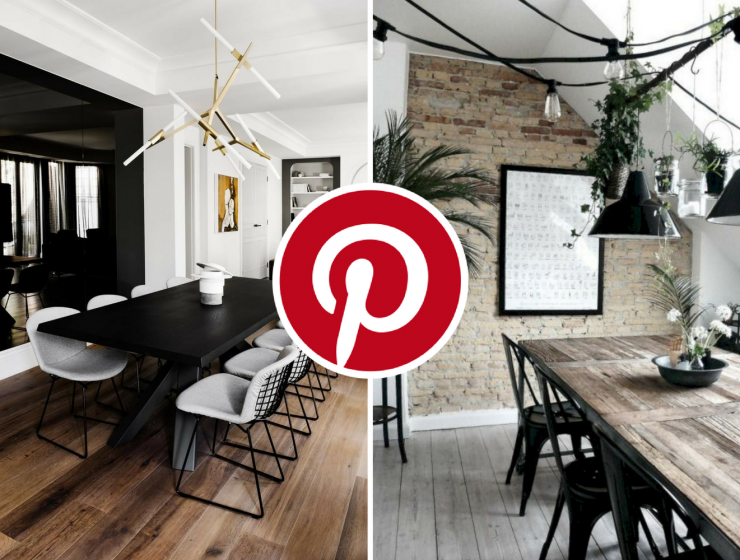 What's Hot on Pinterest_ 5 Black Dining Rooms for a Refined Decor FEAT