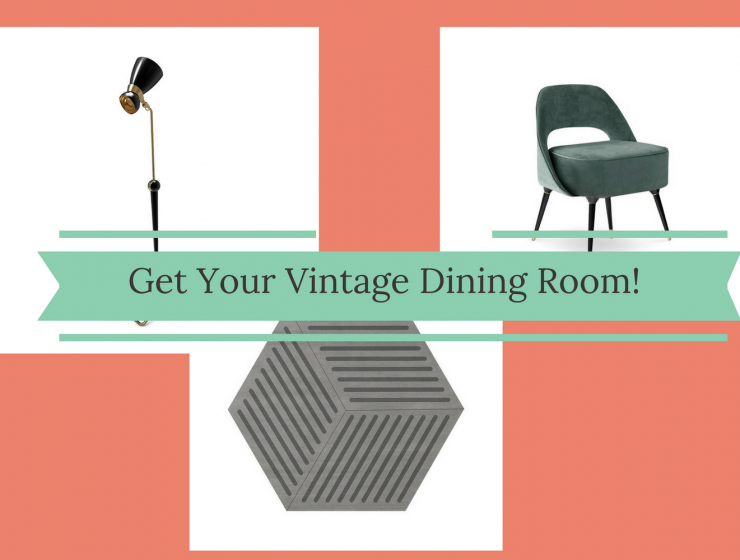 How To Create the Perfect Vintage Dining Room Decor
