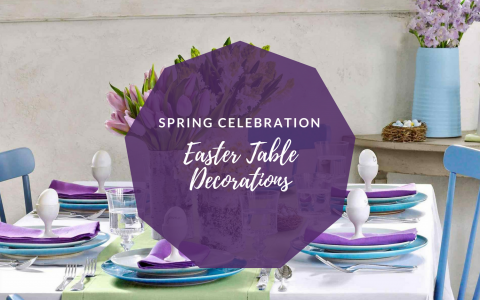 Easter Table Decorations You'll Want to Leave Up All Spring Along feat