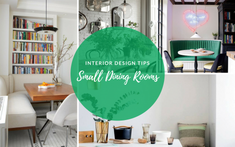 Interior Design Tips to Make the Most of Your Small Dining Room FEAT