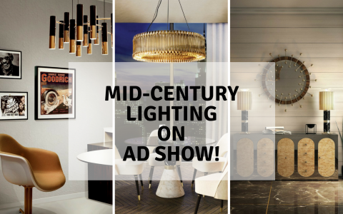 AD Show 2018 With The Best Mid-Century Lighting!