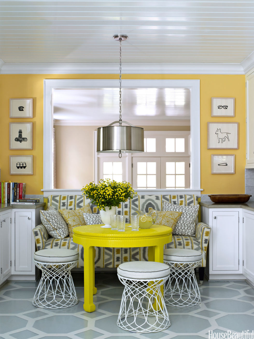 Find Out The Perfect Spring Colours For a Perfect Dining Room! 5