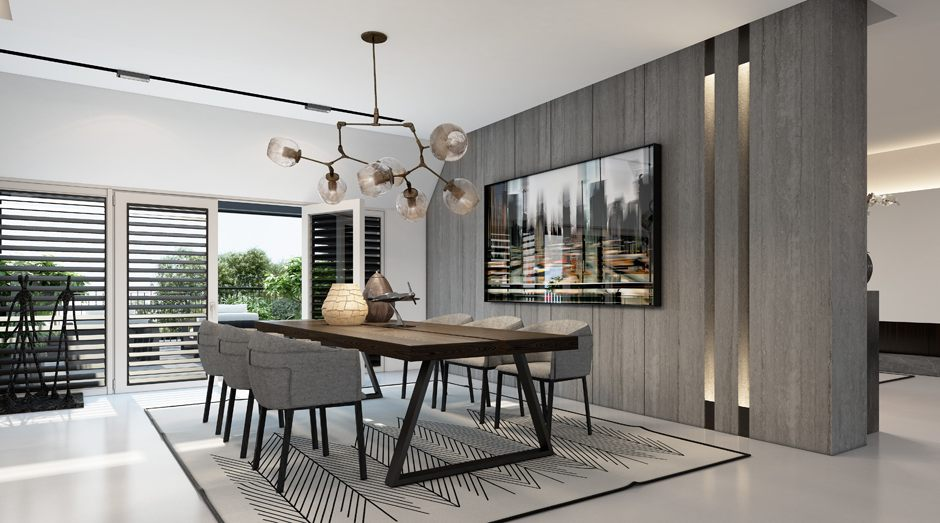 Turn Your Black Canvas Into Your Dreamy Dining Room! 5
