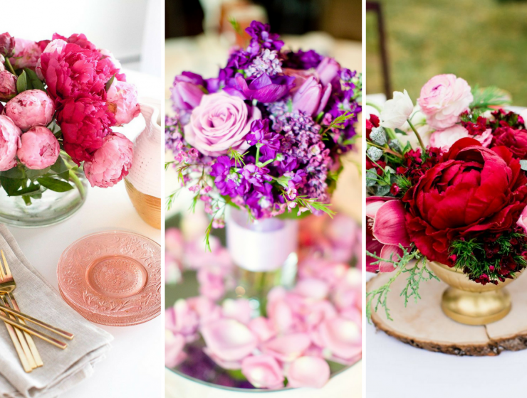 5 Incredible Flower Arrangements For a Last-Minute Dining Room Decor