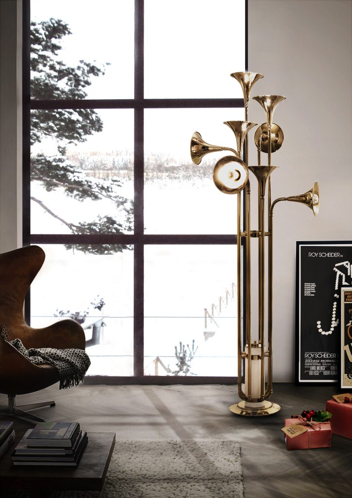 How A Mid-Century Floor Lamp Is A Required Touch! 4