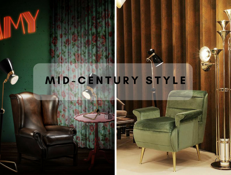 How A Mid-Century Floor Lamp Is A Required Touch!