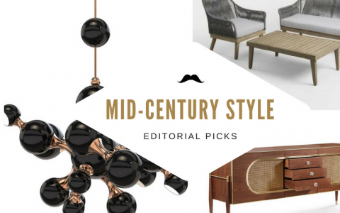 Mid-Century Style Dining Rooms _ Editorial Picks