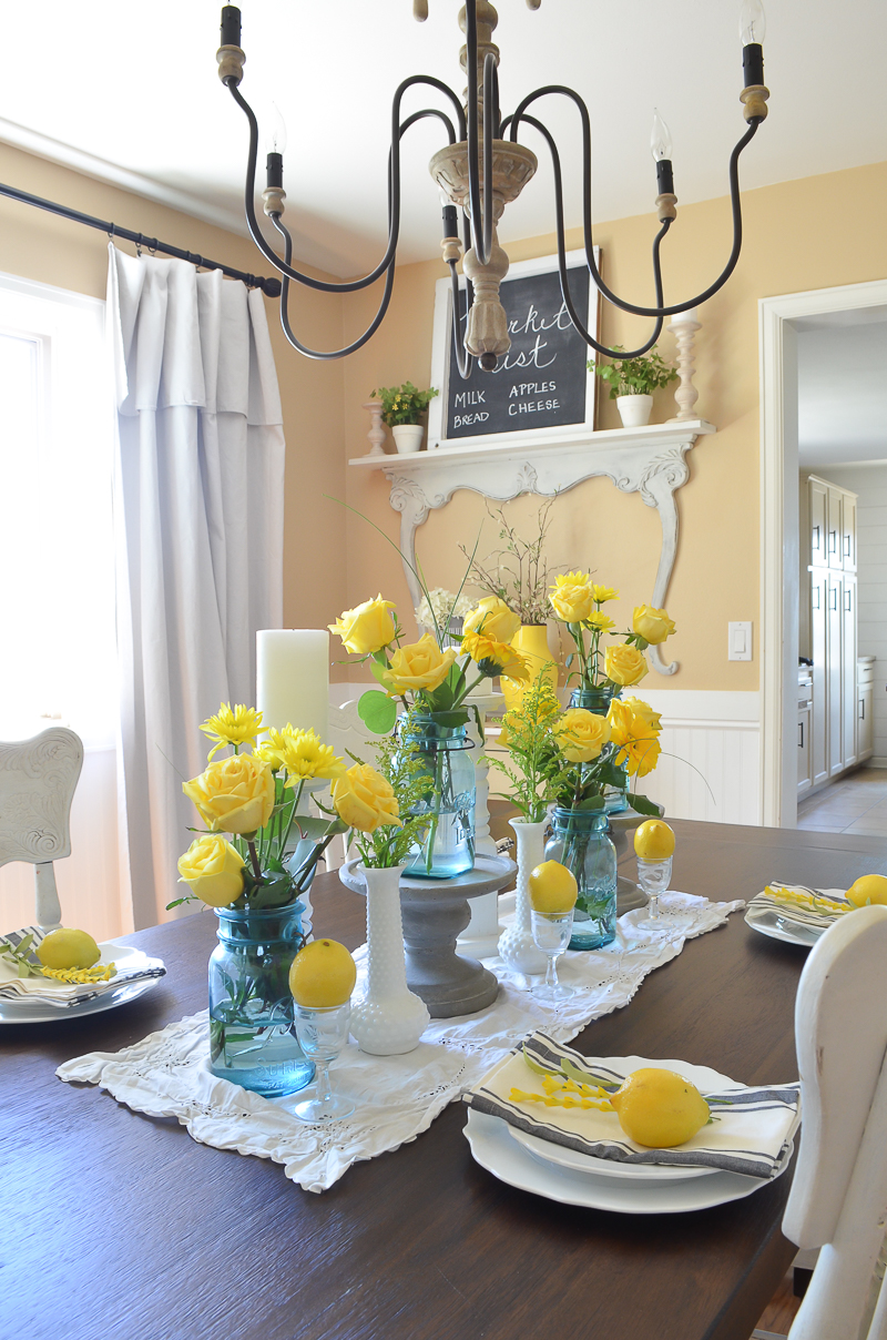 Simple Summer Vintage Dining Room Nest! 6