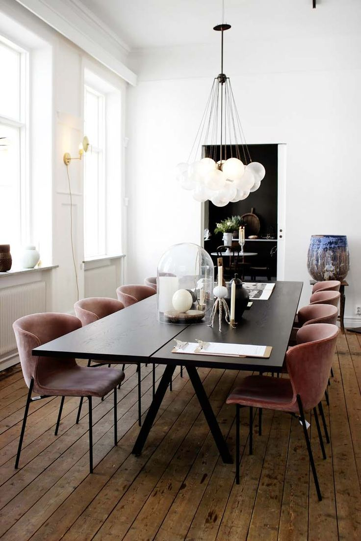 What S Hot On Pinterest Contemporary Dining Room