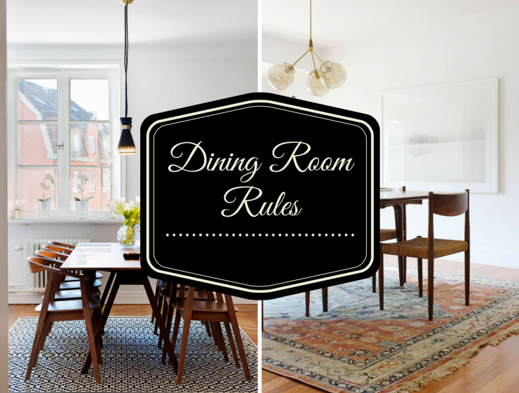 Dining Room Rules Why Are Rugs So Important