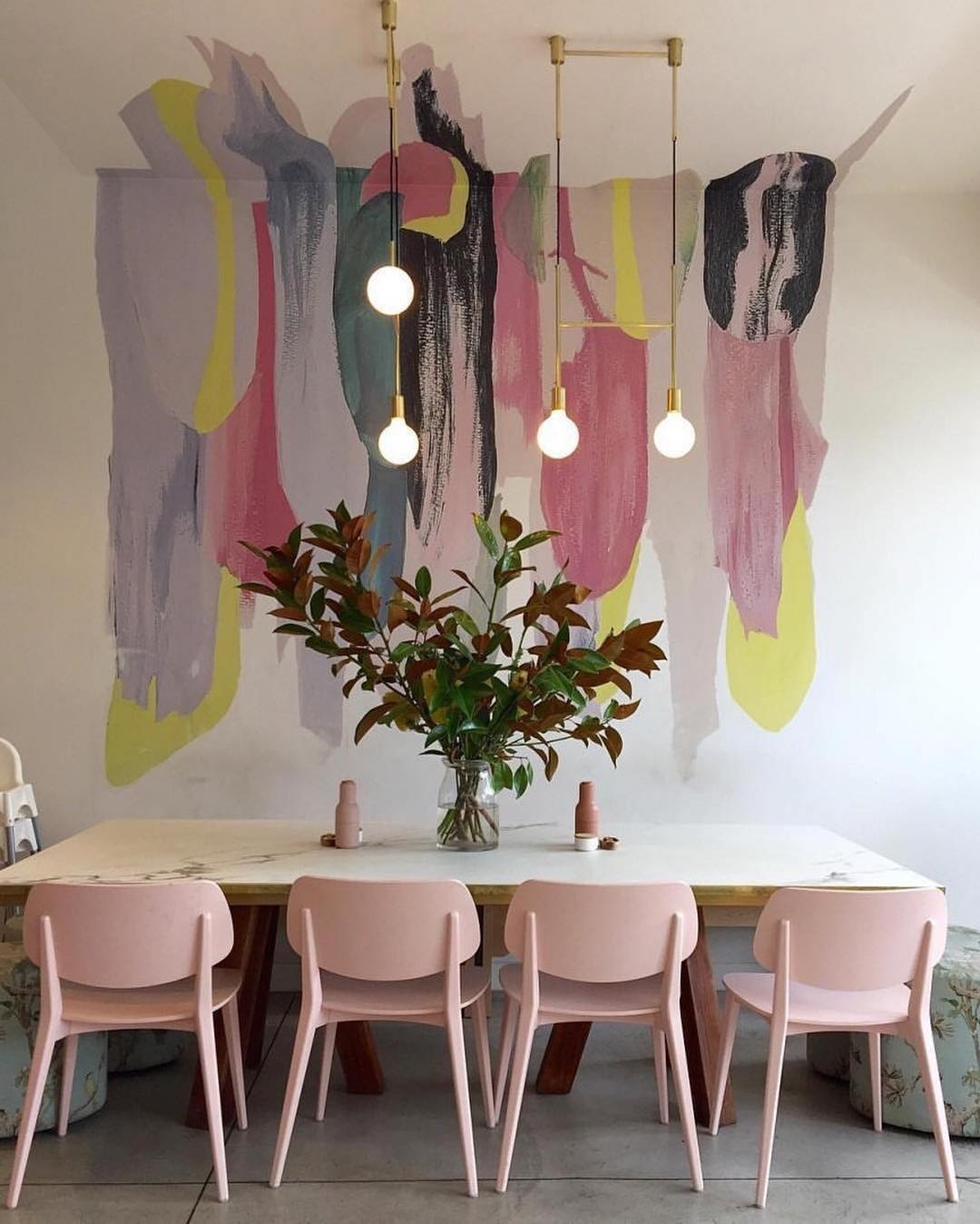 What's Hot On Pinterest Wes Anderson's Inspired Dining Room! 1