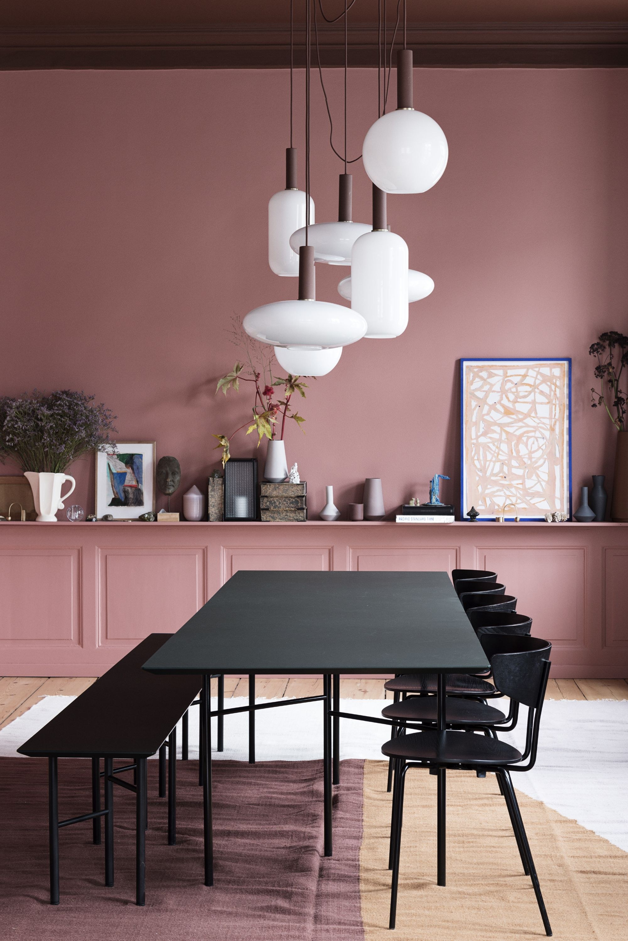 What's Hot On Pinterest Wes Anderson's Inspired Dining Room! 3