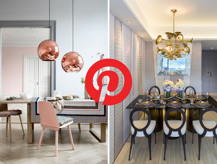 What's HOT on Pinterest 5 Dining Room Lighting Ideas