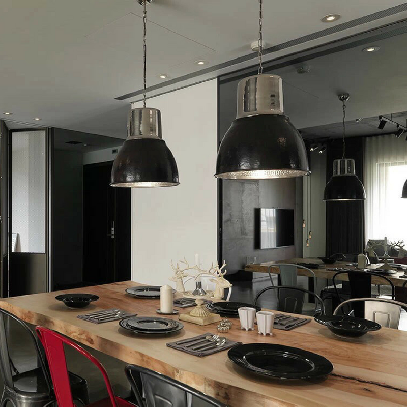 Dining Room Rules_ Industrial Dining Room Lighting As The Key Fixture 14