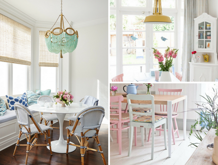 Introducing Colour Into Your Dining Room Decor Has Never Been So Easy
