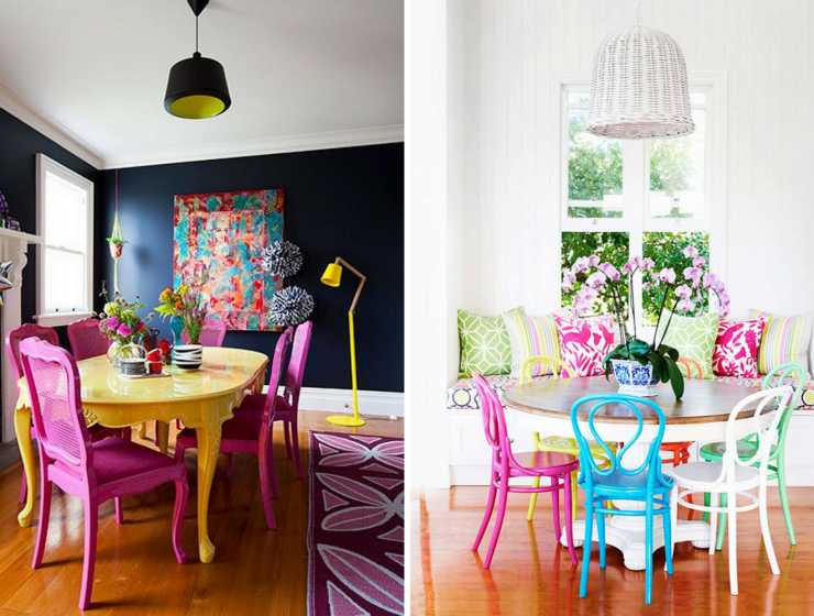 What's Hot On Pinterest_ 5 Colourful Dining Room To Get Rid Of Stress