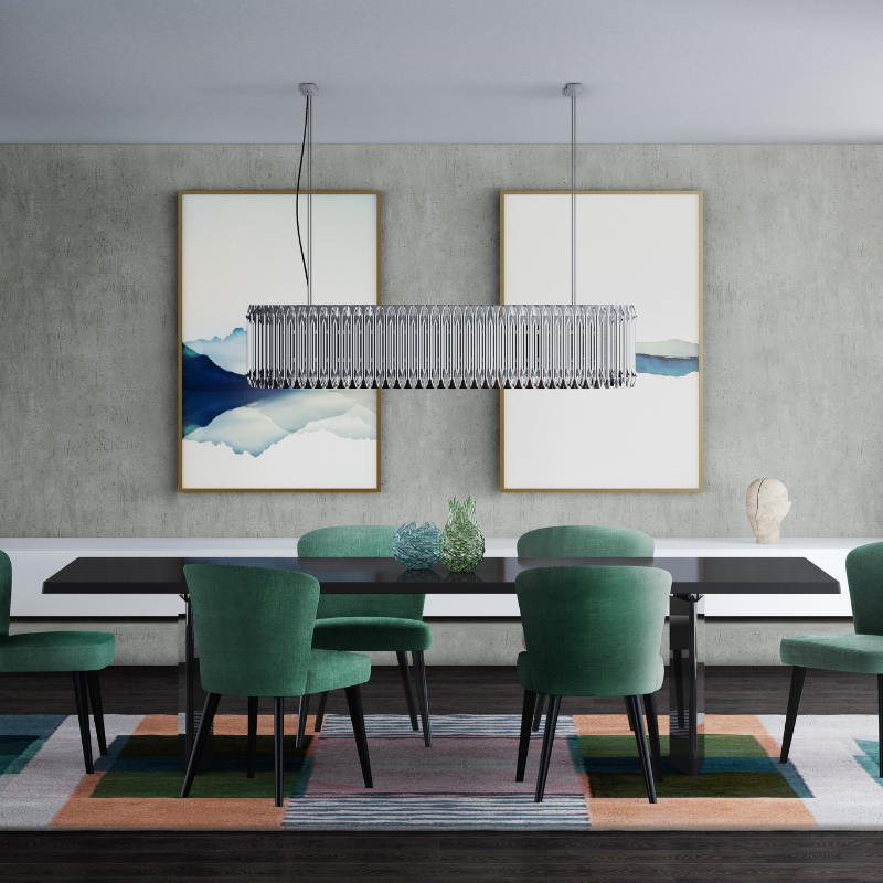HOW TO Choose Your Dining Room Style For This FallWinter 2018 (4)