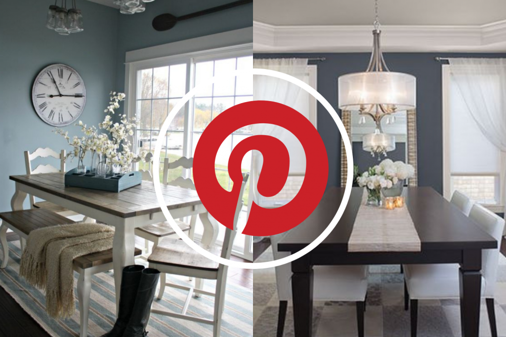 c6d49e919 What's Hot On Pinterest 5 Blue Ideas For Your Dining Room ...