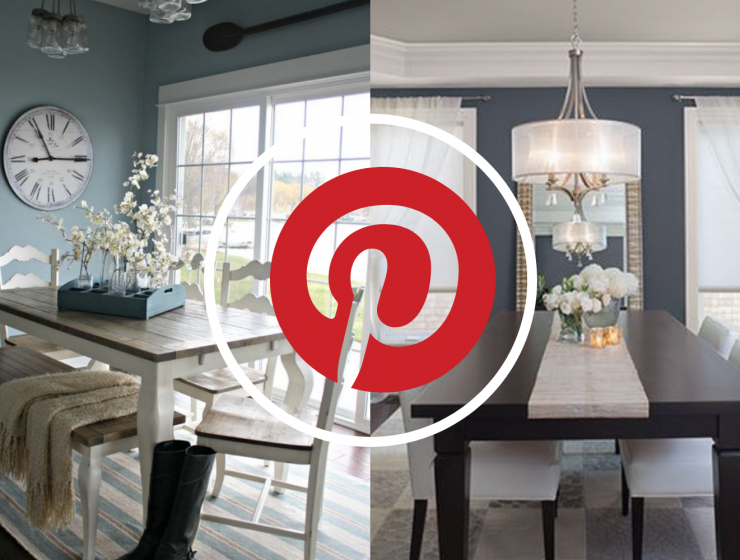What's Hot On Pinterest 5 Blue Ideas For Your Dining Room (2)