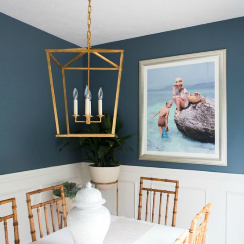 What's Hot On Pinterest 5 Blue Ideas For Your Dining Room