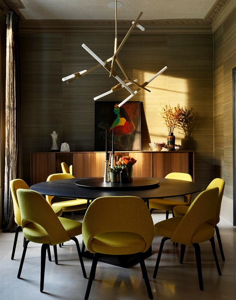 What's Hot On Pinterest: 5 Yellow Dining Room Ideas To Brighten Your Day!