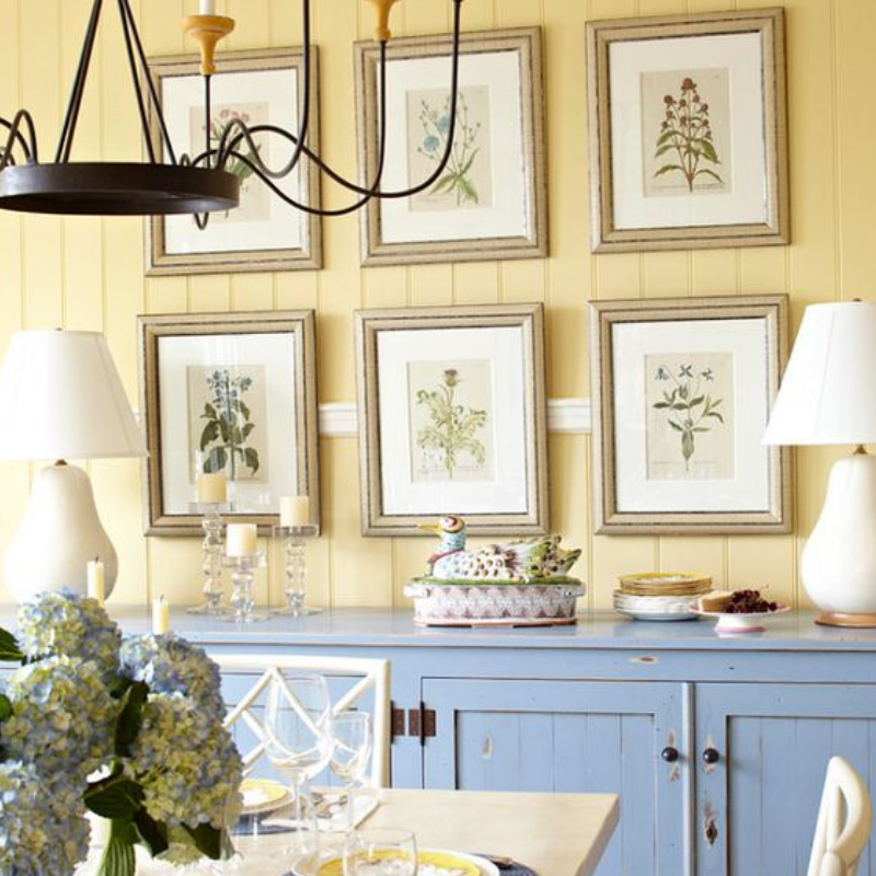 What's Hot On Pinterest 5 Yellow Ideas For Your Dining Room Style (4)