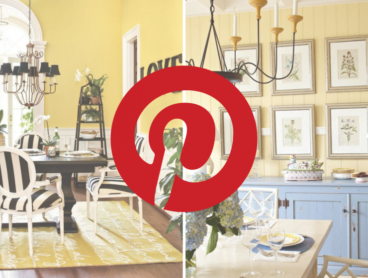 What's Hot On Pinterest 5 Yellow Ideas For Your Dining Room Style